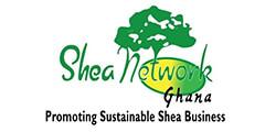 Shea Network Ghana logo.