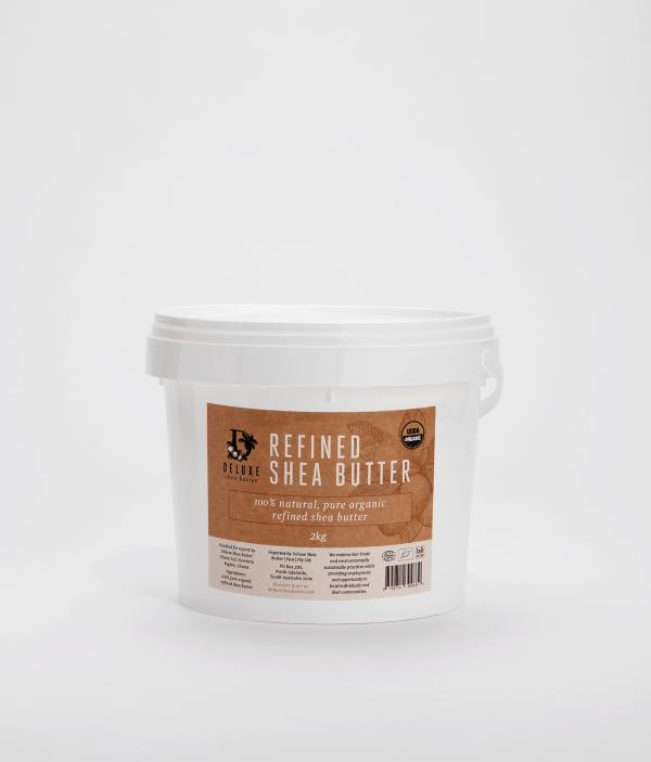 Deluxe Shea Butter® Refined Shea Butter 2kg Tub